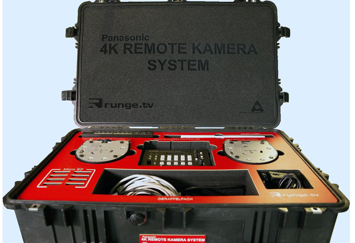 4k kamera remote system kofferakrobat. Black Bedroom Furniture Sets. Home Design Ideas